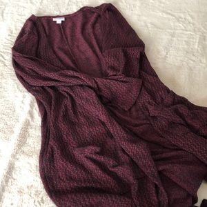Long Knit sweater